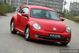 vw volkswagen beetle volkswagen malaysia recalls beetle 2 134 affected