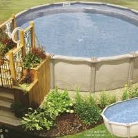 pool charming backyard landscaping decoration using oval above