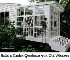 Garden Greenhouse Ideas Build A Garden Greenhouse With Windows Lil Moo Creations