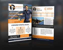 modern professional flyer design for david russin by vivid
