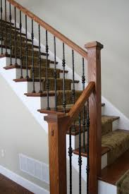 Wrought Iron Stair by Staircase Remodel From M C Staircase U0026 Trim Removal Of Carpet