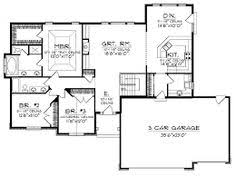 feng shui ranch house floor plans floor plans home plan 149 1470