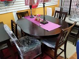 oval pub table set dining oval pub table set 5pcs big sale furniture in norcross ga