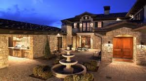 spanish style homes with courtyards mediterranean style