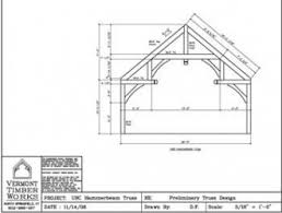 Free Timber Roof Truss Design Software by Timber Frame Engineering Post U0026 Beam Design