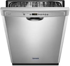 Aj Madison Dishwashers Maytag Mdb4949sdm Full Console Dishwasher With Powerblast Cycle