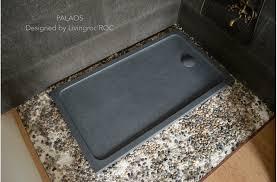 Shower Tray Shower Tray Grey Granite Stone Wet Room Palaos