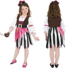 kids pirate costumes age 4 12 years girls boys dressing up fancy