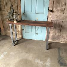salvaged wood console table shop reclaimed wood console table on wanelo