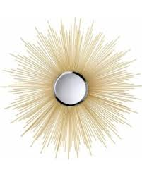 Koehler Home Decor Big Deal On Koehler Home Decor Gold Metal Sunburst Wall Mirror