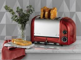 Toaster Oven With Toaster Slots Apple Candy Red 4 Slice Toaster The Original 4 Slot Newgen From