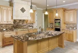 kitchen cabinets and granite countertops granite countertops light dark kitchen cabinets with light granite