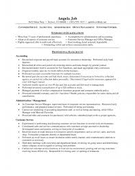 Office Manager Sample Resume Download Customer Service Resume Objective Haadyaooverbayresort Com