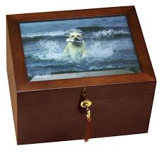 pet urn pet urns for large dogs and memory box with an area to add your