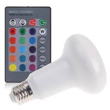 Rgb Led Light Bulb With Remote by E27 R63 5w 10w Rgb Led Color Change Reflector Light Bulb Lamp
