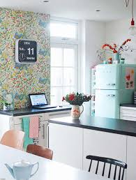 Turquoise And Orange Kitchen by 10 Of Our Favorite Summery Kitchens U2013 Design Sponge