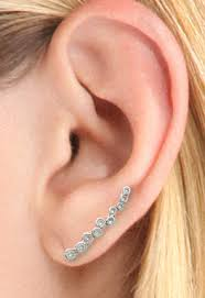 one ear earring ear climbers for beginners jewelry fashion tips