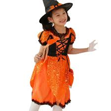 halloween costumes for kids pumpkin compare prices on girls carnival dress online shopping buy low