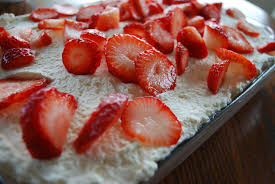 strawberry tres leches cake glossies made me do it