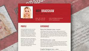 creatively smart u2013 a stylish resume template freebie