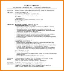 Mba Skills Resume Mba Resume Example Resume Examples Qualifications More Mba Resume