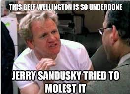 Sandusky Meme - burn notice on the soup e news