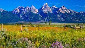 Map Of The United States With Landforms by Wyoming Pictures And Facts