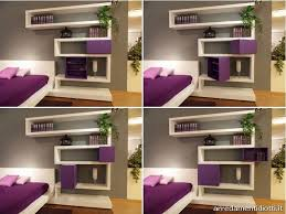 bed bedroom wall cabinets