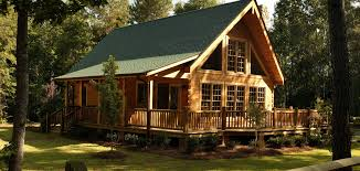 100 one story log cabins the bourbon one story log home