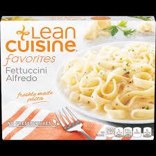 are lean cuisines healthy fettuccini alfredo lean cuisine