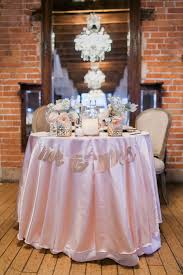 vintage glam wedding pink and gold vintage glam wedding