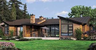 contemporary one story house plans northwest house plans one story home deco plans