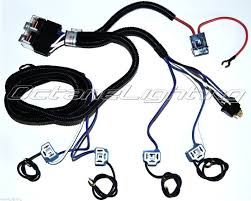 ceramic h4 headlight relay wiring harness 4 headlamp light bulb