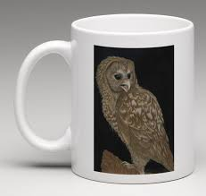 owl mug spotted owl coffee mug corrina thurston