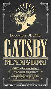 gatsby party invitation cloveranddot com