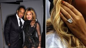 Beyonce Wedding Ring by Blinged Out Celeb Engagement Rings By The Numbers Entertainment