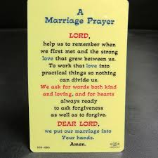 marriage prayer blessed prayer card lucky new products