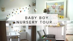 Baby Boy Nursery Decor by Baby Boy Nursery Room Tour Travel Bird Theme Youtube