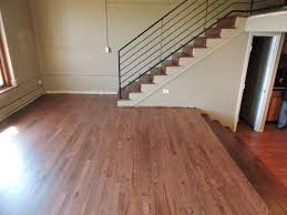 Rosewood Laminate Flooring Red Oak With Rosewood Stain Install And Refinish To Match In