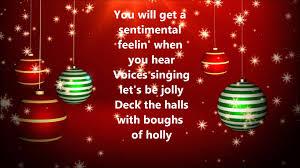 Decorate The Christmas Tree Lyrics Brenda Lee Rockin U0027 Around The Christmas Tree Lyrics Youtube