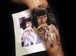 everybody be cool with these pulp fiction tattoos pulp fiction