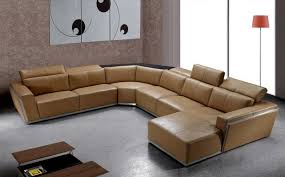 modern leather sectional sofa with recliners tedxumkc decoration
