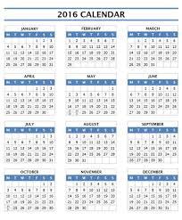 2016 calendar 16 free printable word templates 2010 template saneme