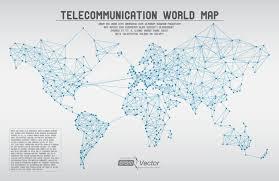 world map vector free telecommunication world map vector free vector graphic