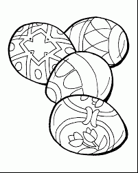 extraordinary easter egg coloring pages printable free easter