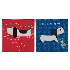 pug home decor 45 cm creative animation pug cotton embroidery pillow cushion cute