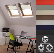 Velux Ggl 4 Blind Blackout Skylight Roller Blinds For Velux Roof Windows Waterproof