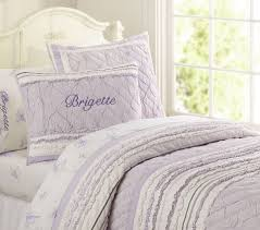 Pottery Barn Kids Quilts Brigette Ruffle Quilt Pottery Barn Kids