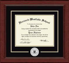 harvard diploma frame harvard westlake school lasting memories circle logo diploma frame