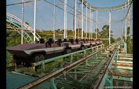 Top 10 Abandoned Places In The World Beautiful And Terrifying Coaster Cars In The Abandoned Nara